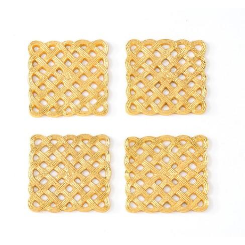 Set Of 4 Filigran Coasters - Shiraleah - image 1 of 2