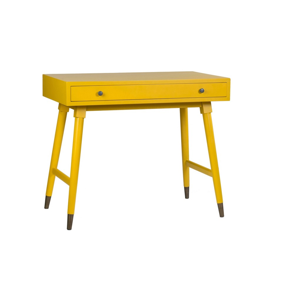 Lillian Office Desk Yellow East At Main