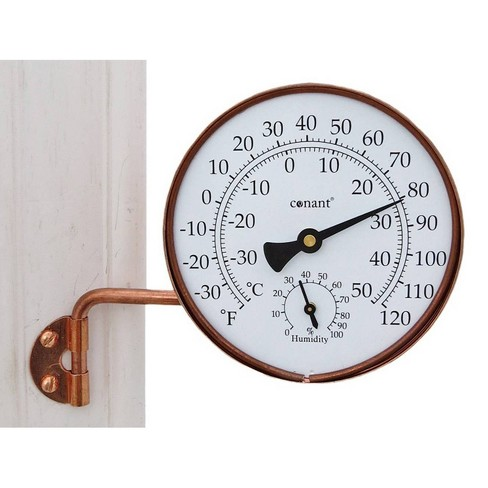 Small Dial Weather Station Copper - image 1 of 1