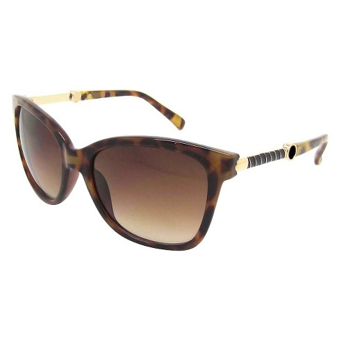 Women's Cateye Sunglasses - Brown - image 1 of 1