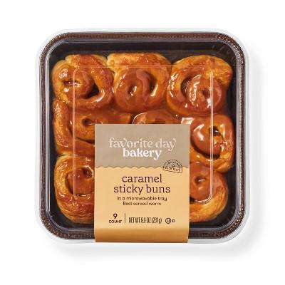 Caramel Sticky Buns - 9.9oz/9ct - Favorite Day™