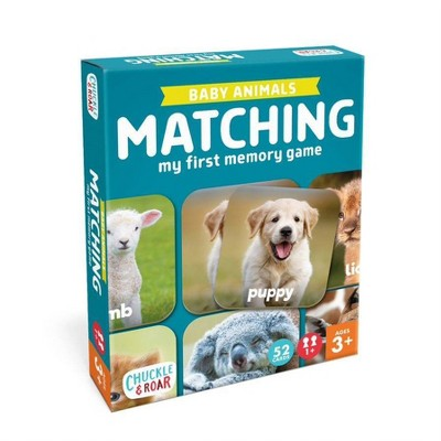 Chuckle & Roar Matching Game Baby Animals