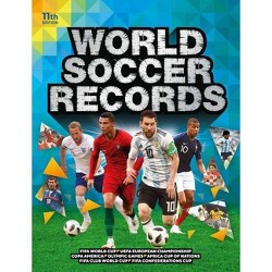 World Soccer Records 2020 - 11 Edition by  Keir Radnedge (Hardcover)