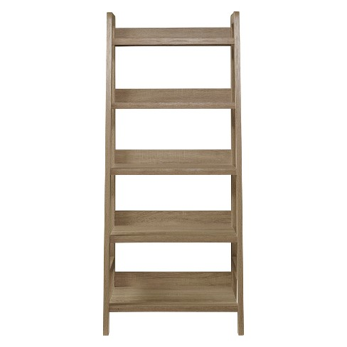 60 5 Shelf Bookcase Gray