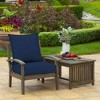 Leala Texture Deep Seat Outdoor Cushion Set - Arden Selections - image 2 of 4