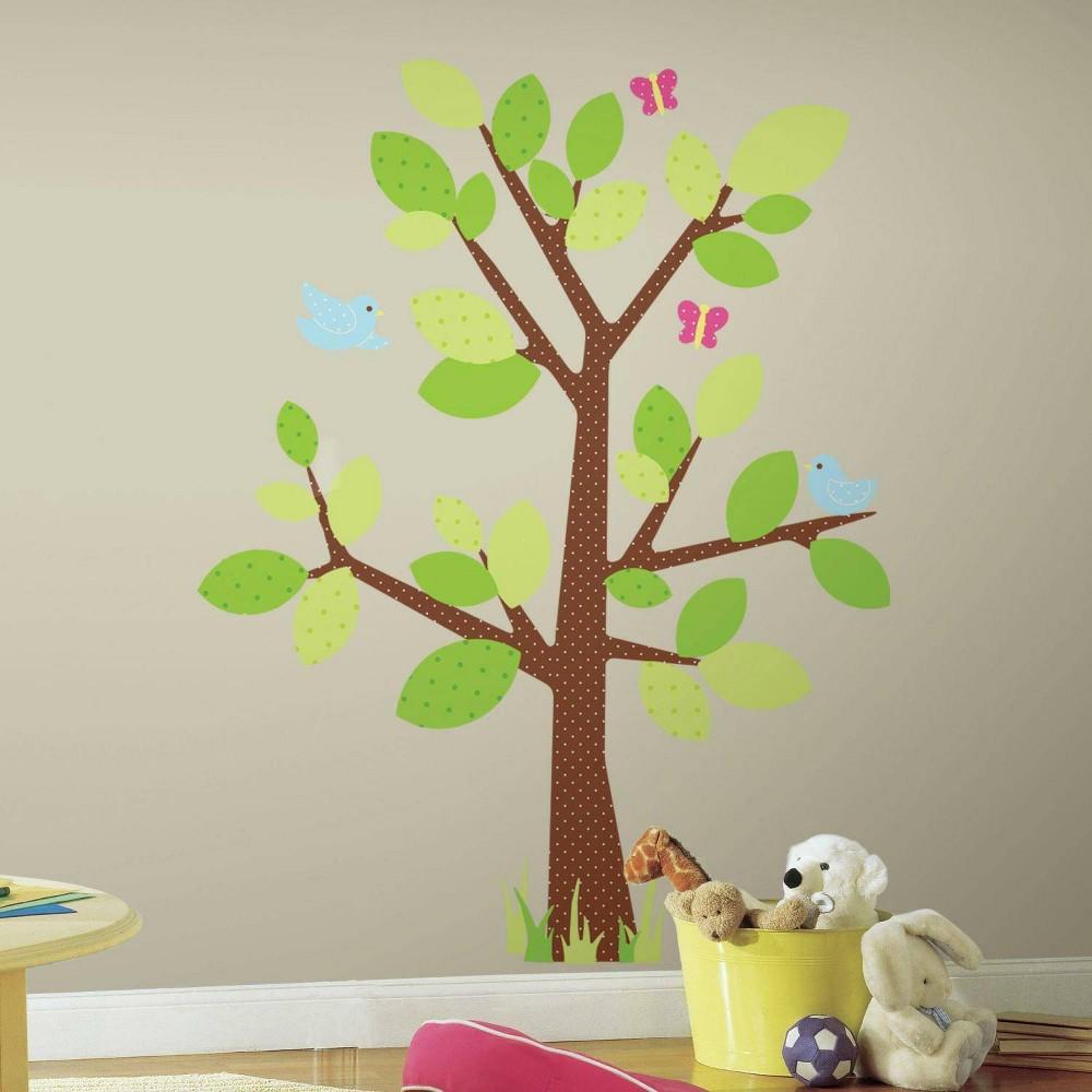 Roommates Kids 39 Tree Peel 38 Stick Giant Wall Decal