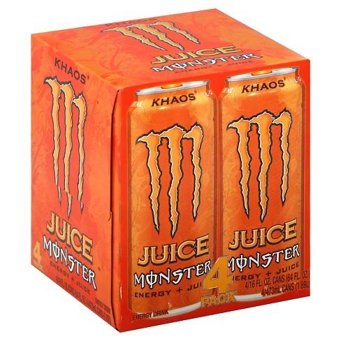 Juice Monster, Khaos - 4pk/16 fl oz Cans - image 1 of 1