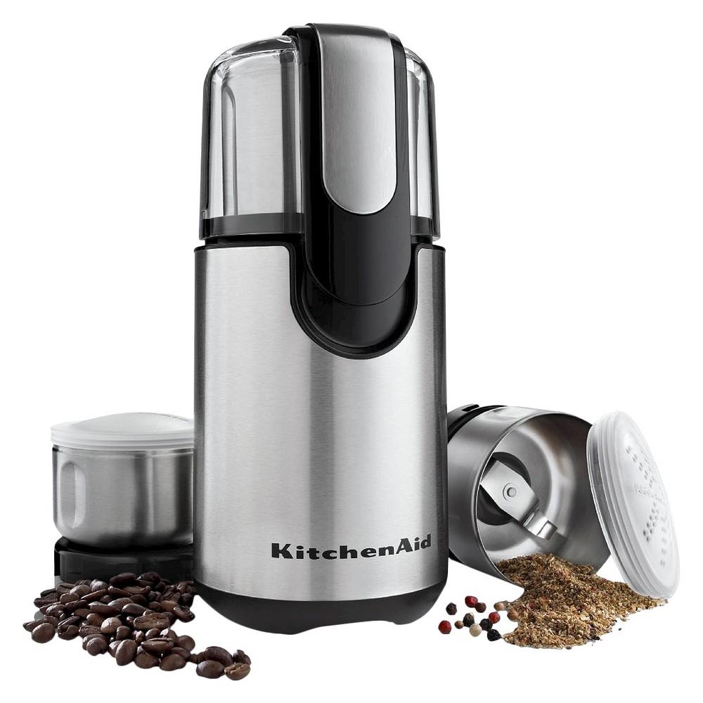 KitchenAid Coffee and Spice Grinder - BCG211, Black