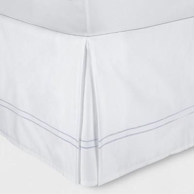 White Hotel Bed Skirt (Queen)- Fieldcrest®