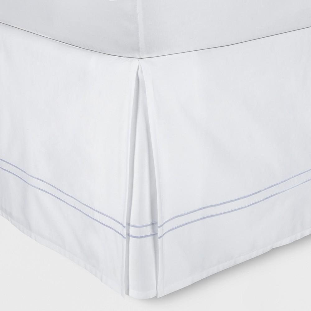 White Hotel Bed Skirt (California King) - Fieldcrest