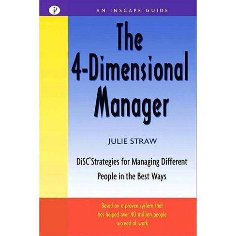 The 4 Dimensional Manager - (Inscape Guide) by  Julie Straw (Paperback) - image 1 of 1
