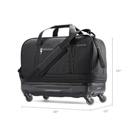 5ba1d18248 American Tourister Hybrid Wheeled Extender Duffel Bag - Black   Target