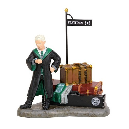Department 56 - Harry Potter Village - Draco Waits At Platform 9 3/4 Figure, 3.45-inches - image 1 of 2