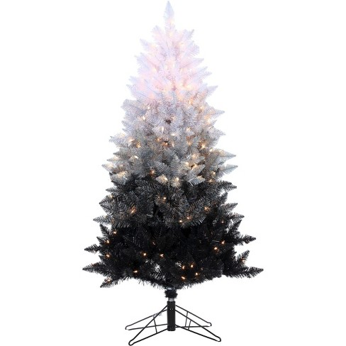 5ft Pre-Lit Artificial Christmas Tree Vintage Spruce Clear Lights - image 1 of 2
