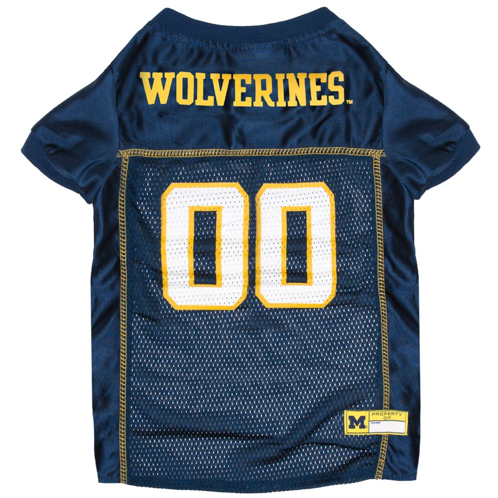 Pets First Michigan Wolverines Mesh Jersey - XL, Multicolored