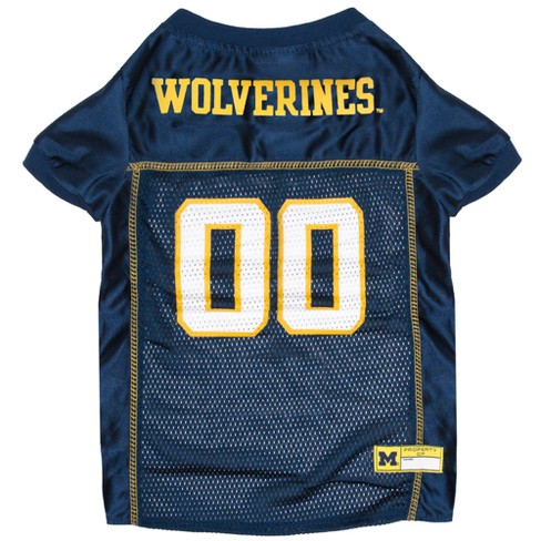 NCAA Pets First Michigan Wolverines Mesh Jersey - L - image 1 of 2