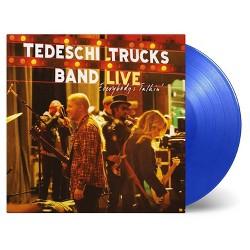 Tedeschi Trucks Band - Everybody's Talkin (3 LP Limited Transparent Blue 180 Gram Audiophile Vinyl)