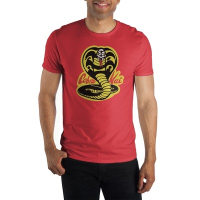 Bioworld Cobra Kai Logo  Short Sleeve Graphic Tee