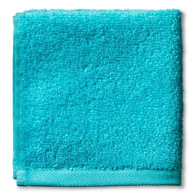 Fast Dry Washcloth Blue - Room Essentials™