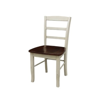 Set of 2 Madrid Ladderback Chairs - International Concepts