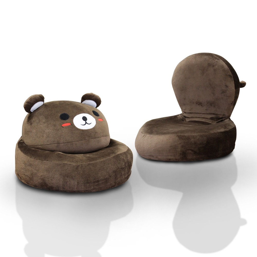 Image of Dearie Youth Bear Chair Brown - ioHOMES