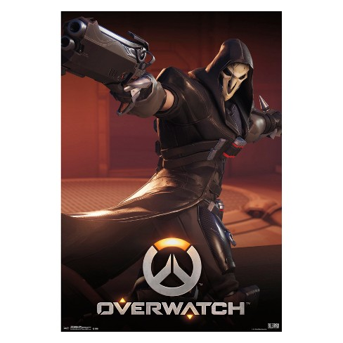 "Overwatch Reaper Unframed Wall Poster Print 34"" x 22"" - Trends International - image 1 of 2"