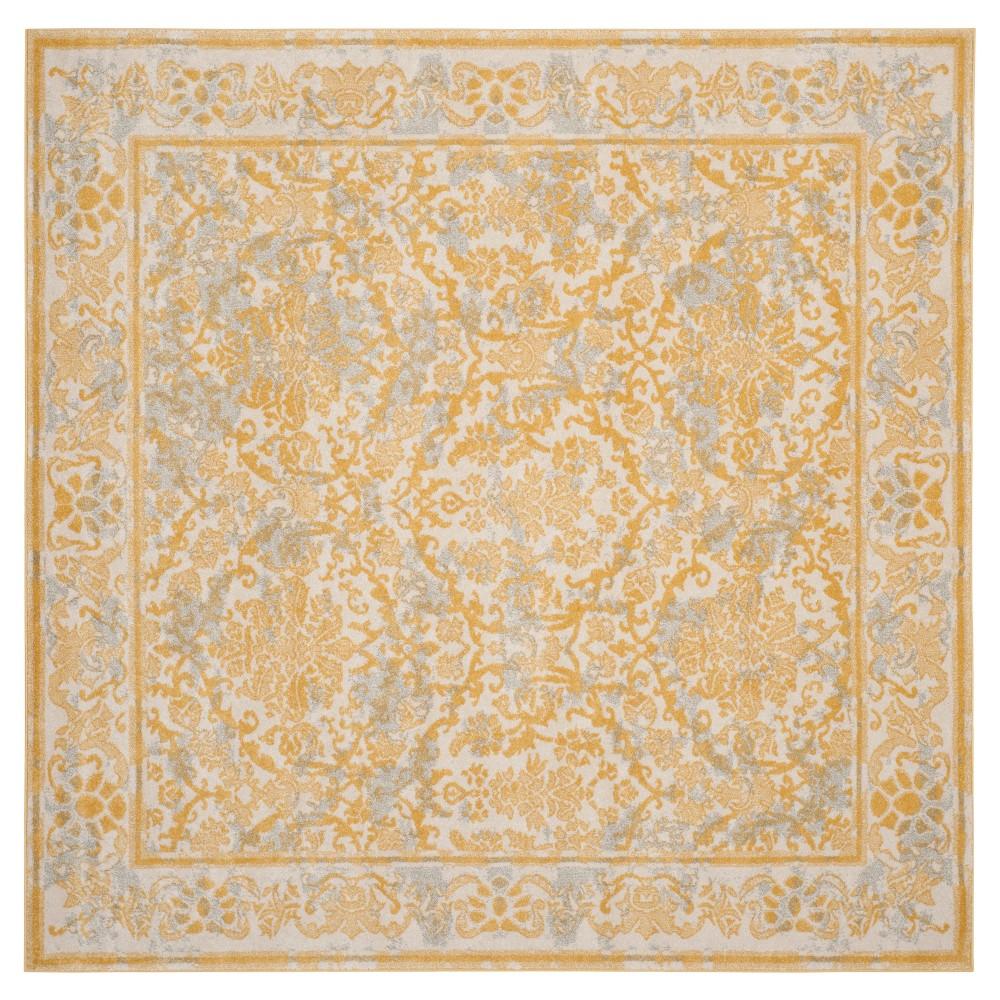 Evoke Rug - Ivory/Gold - (6'7