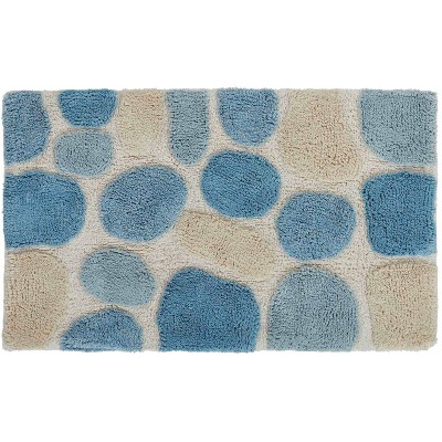 2pc Pebbles Bath Rug Set Aqua - Chesapeake Merchandising