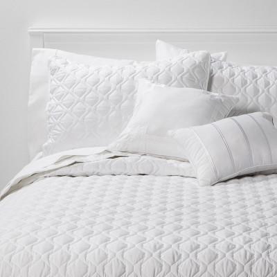 King 5pc Quilt Set White Richmond - Threshold™
