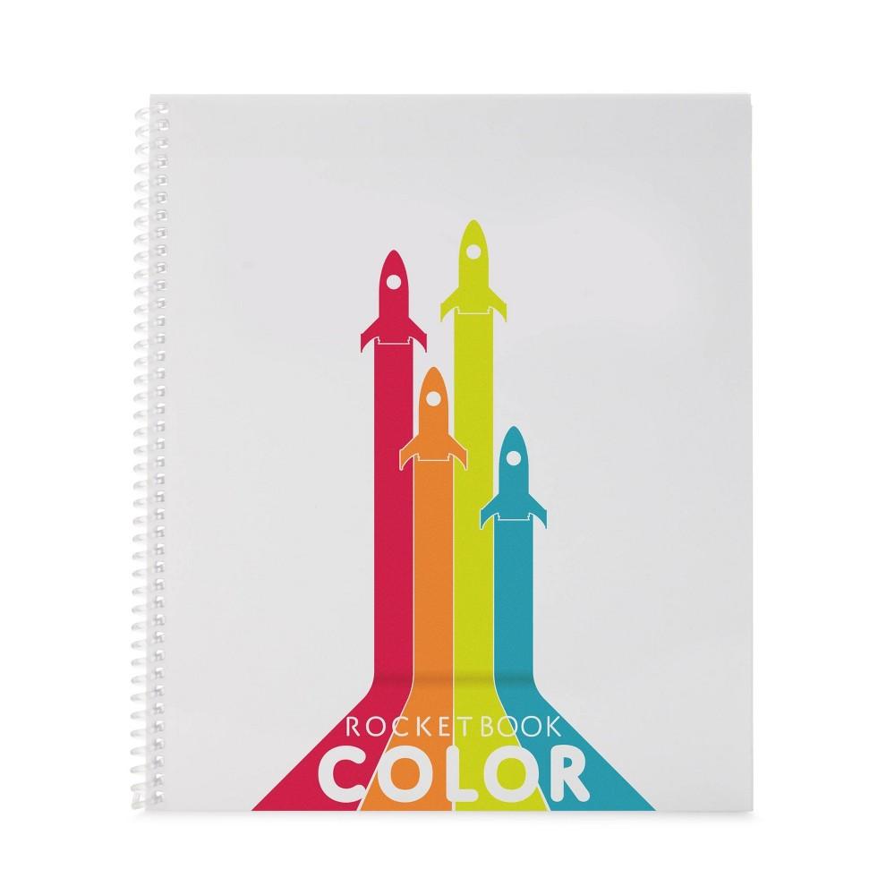 Image of Rocketbook Color Smart Notebook Spiral 1 Subject