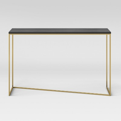 Etonnant Sollerod Console Table   Brass And Black   Project 62™