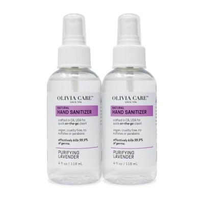Olivia Care Hand Sanitizer - Lavender - 2pk/4 fl oz