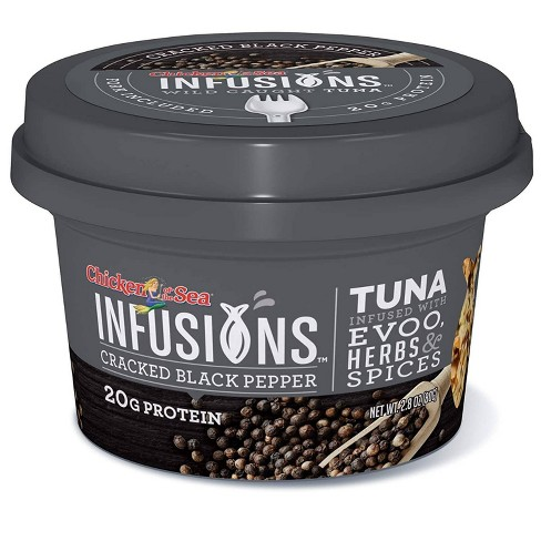 Chicken of the Sea Infusions Cracked Black Pepper Tuna - 2.8oz - image 1 of 4