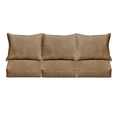 Sunbrella Outdoor Seat Cushion Brown