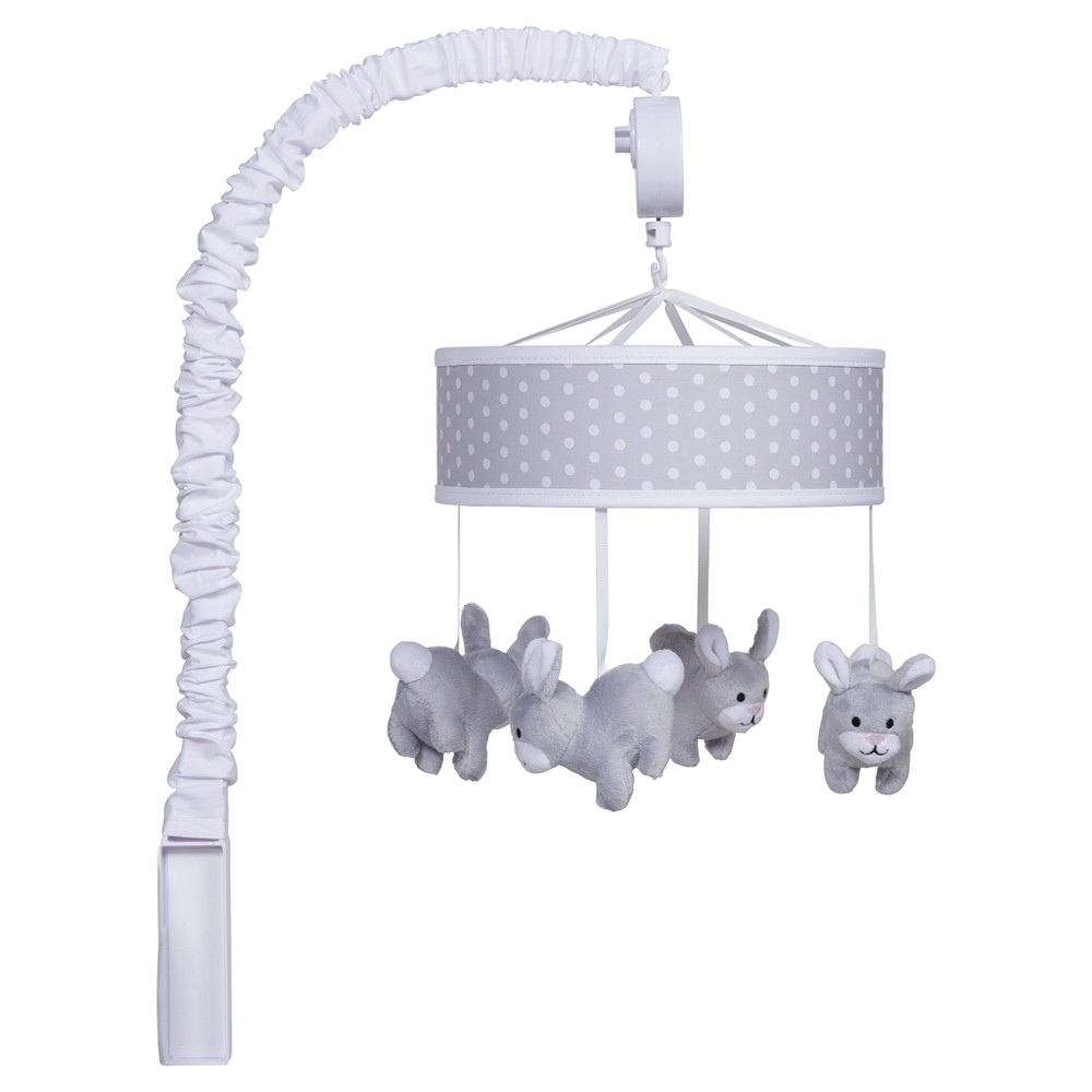 Image of Trend Lab Musical Mobile - Gray Bunny