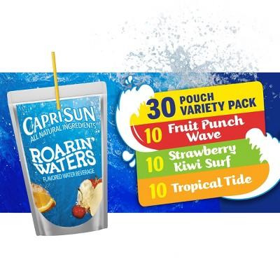 Capri Sun Roaring Waters Variety Pack - 30pk/6 fl oz Pouches