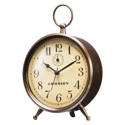 Analog Alarm Clock Antique Bronze - Crosley®