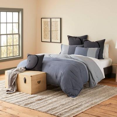 Full/Queen Ed-Ellen Degeneres Rejeaneration Comforter Set Blue