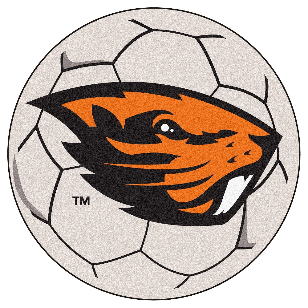 NCAA 27 Soccer Ball Mat Oregon State Beavers
