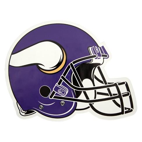 NFL Minnesota Vikings Large Outdoor Helmet Decal - image 1 of 1