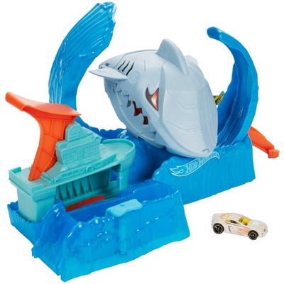 Hot Wheels City Robo Shark Frenzy Playset