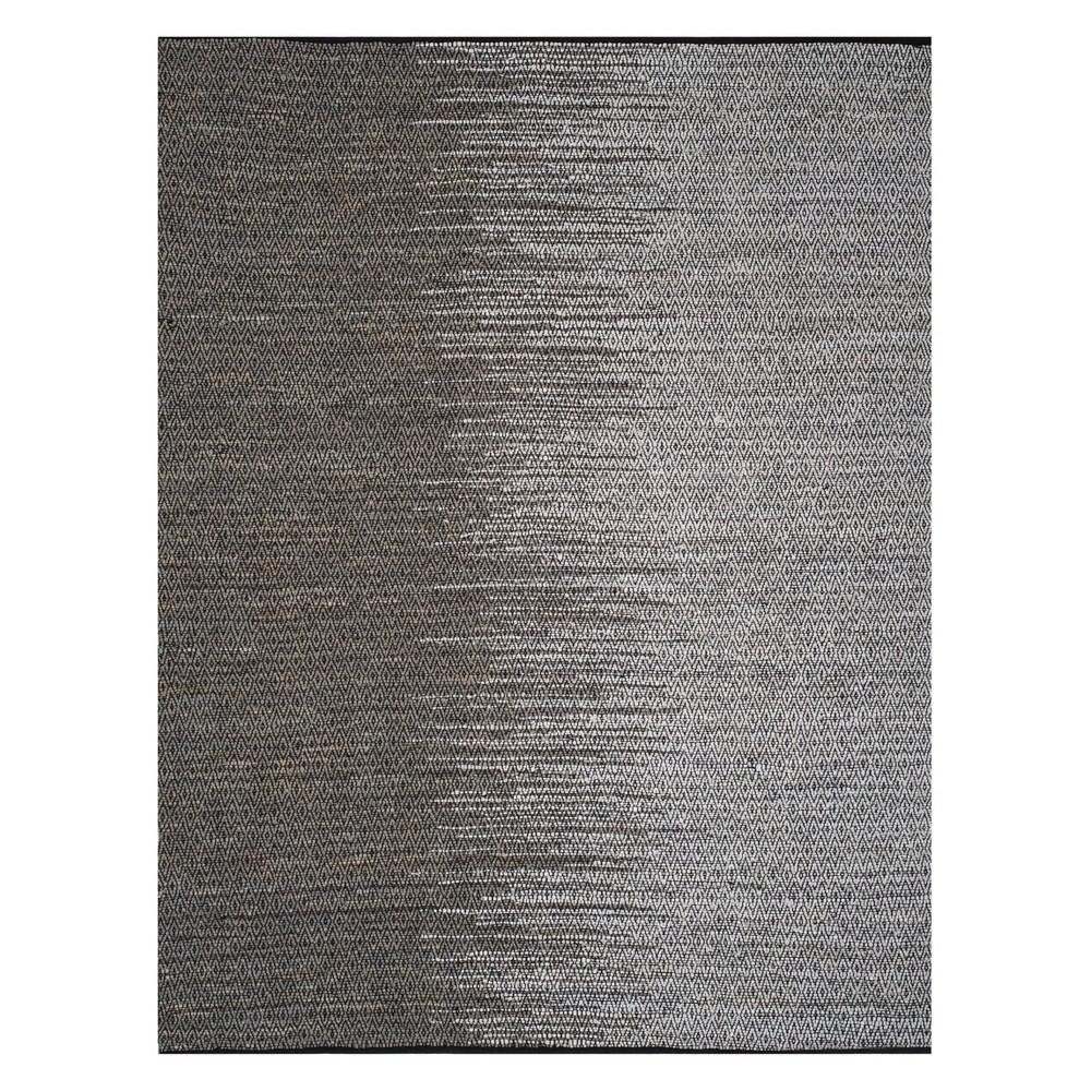 8'X10' Geometric Woven Area Rug Light Gray - Safavieh, Light Gray/Gray