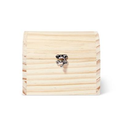 Wood Treasure Chest Box - Mondo Llama™