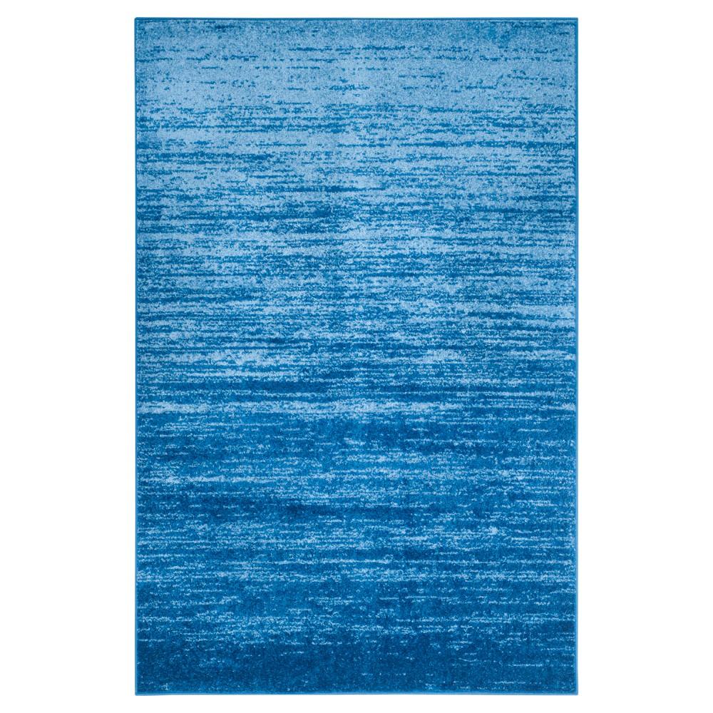 Norris Area Rug - Light Blue/Dark Blue (6'x9') - Safavieh
