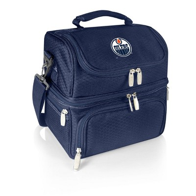 NHL Edmonton Oilers Pranzo Dual Compartment Lunch Bag - Blue