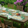 """Villeroy & Boch - French Garden Cotton Fabric Reversible Placemat Set of 4 - 14"""" x 20"""" - image 2 of 3"""