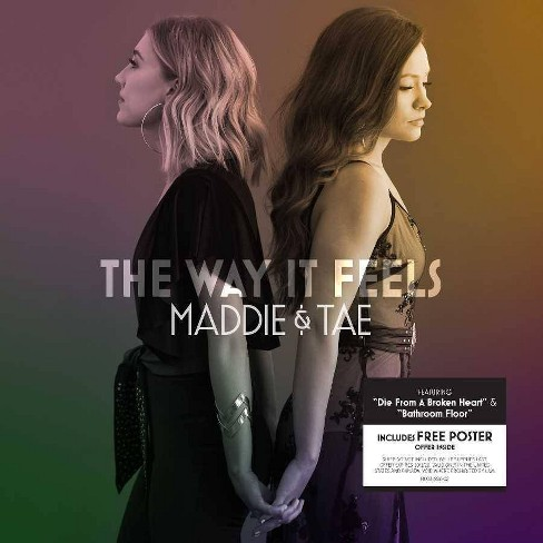 Maddie & Tae - The Way It Feels (CD) - image 1 of 1