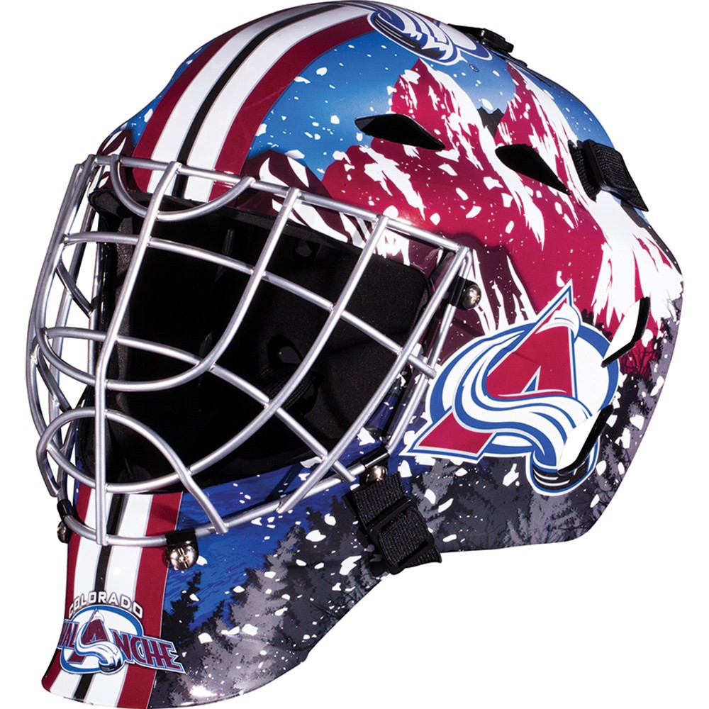 NHL Colorado Avalanche Franklin Sports Goalie Helmet