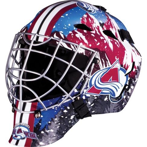 NHL Colorado Avalanche Franklin Sports Goalie Helmet   Target c28748616