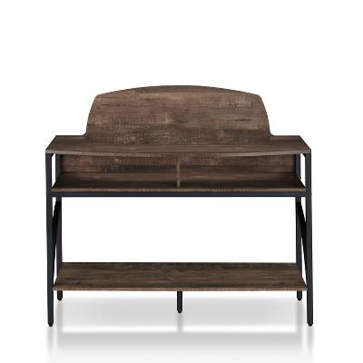 Camie Console Table Reclaimed Oak - miBasics